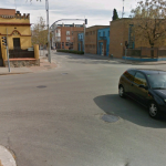 Imatge de Google Maps del lloc de l'accident