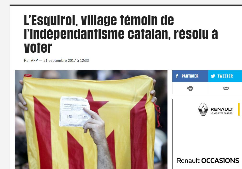 Article publicat al Liberatión