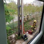 Els bombers han treballat en l'incident.