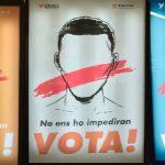 La campanya d'Òmnium a favor del referèndum té diverses imatges