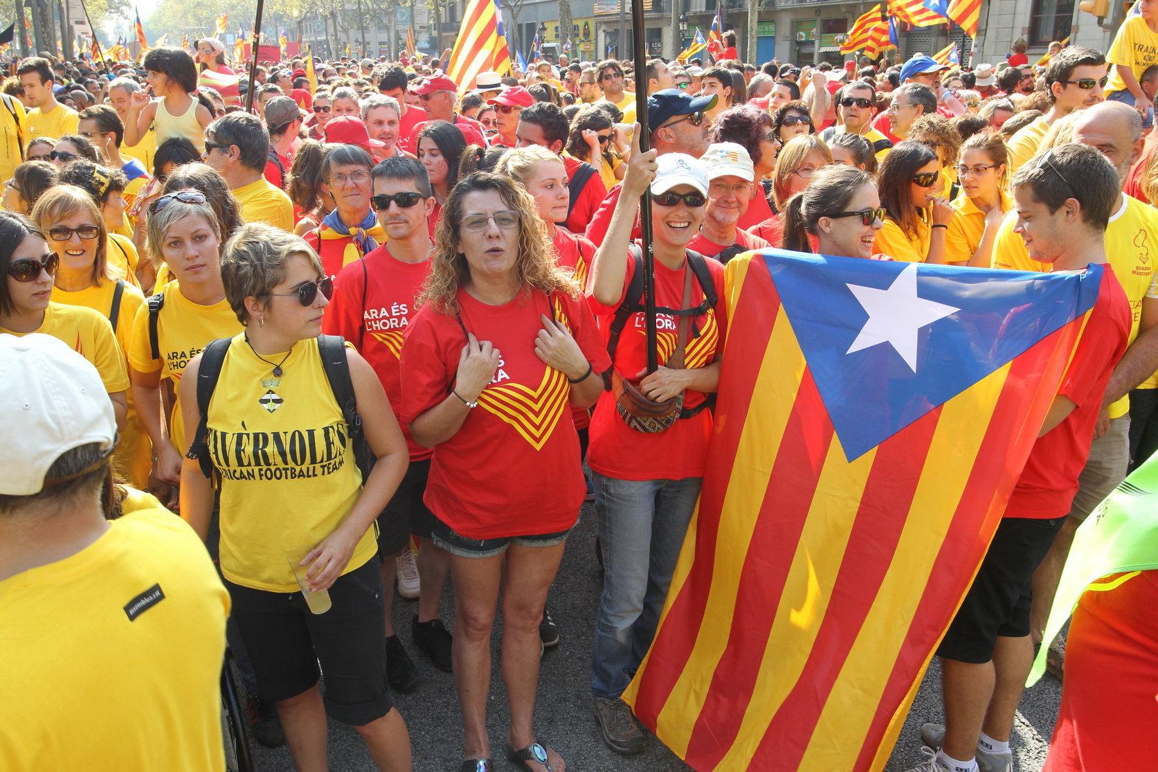 Una imatge de la manifestació de l'any passat