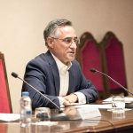 Ramon Tremosa durant la conferència de la Diada