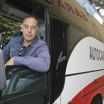 Pep Molist, al voltant de l'autocar