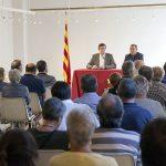 Gran assistència a la conferència de Mundó