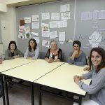 Marga Bayés, a la dreta, ha assumit la presidència de l'associació
