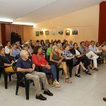 Un moment de la conferència del doctor Xavier Gómez-Batiste