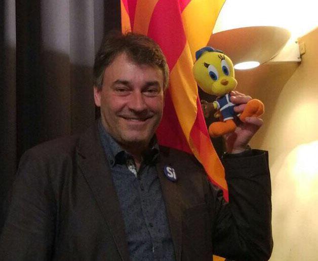 Jordi Munell amb en Piolín