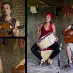 Arrey i Lázara en una imatge del vídeo del nou tema, Roderes de fang