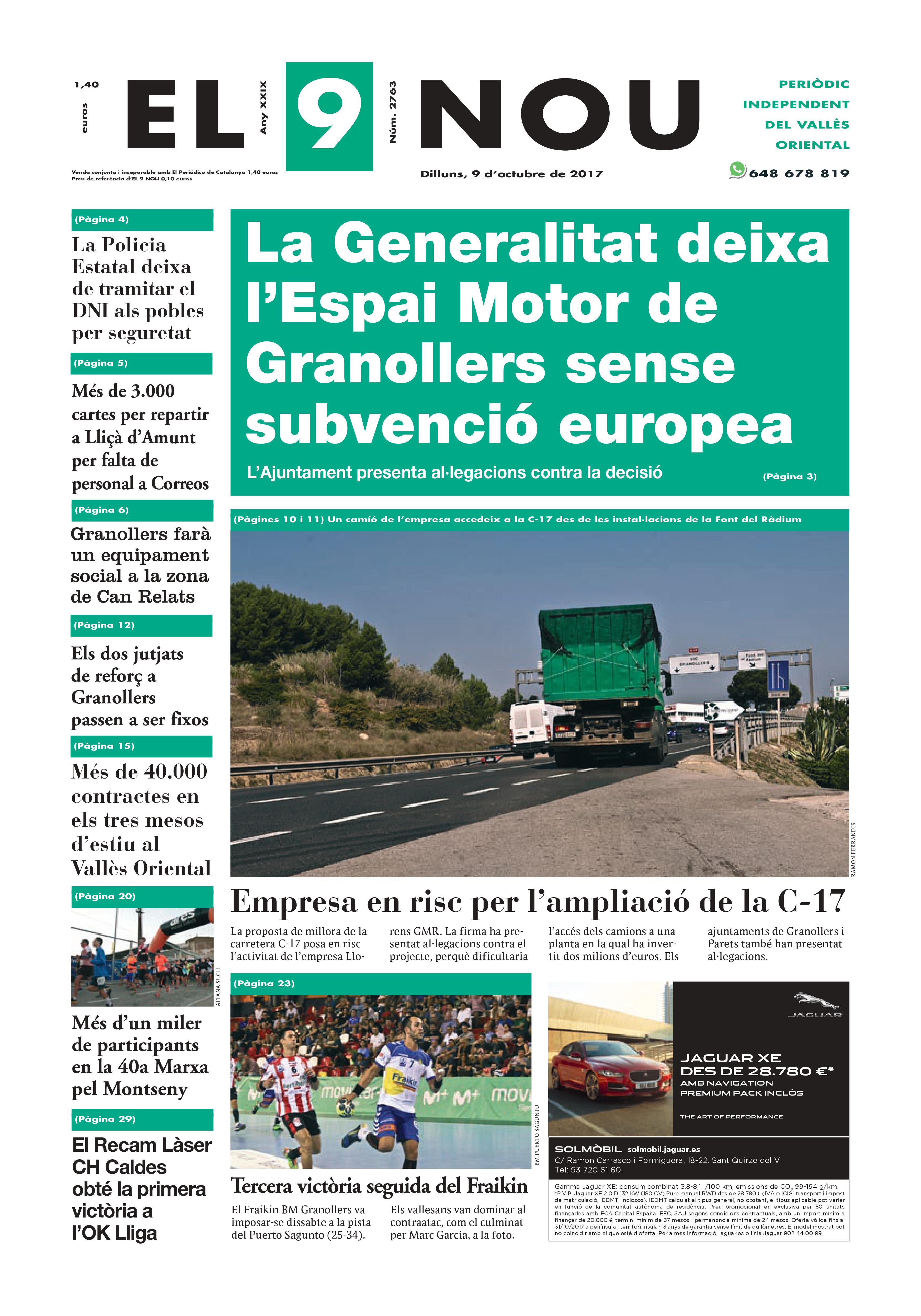 Portada Vallès Oriental 16/10/2017