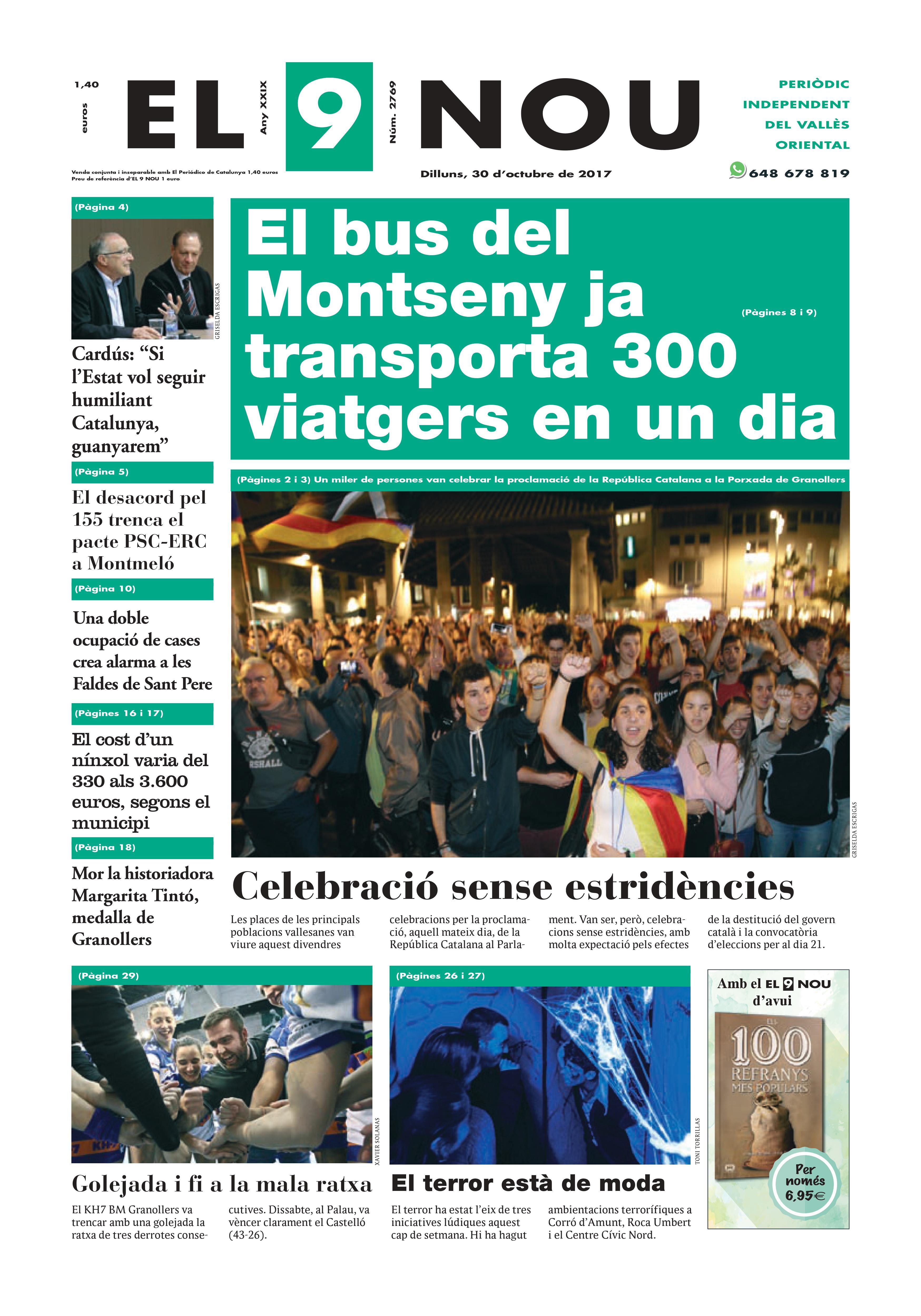 Portada Vallès Oriental 30/10/2017
