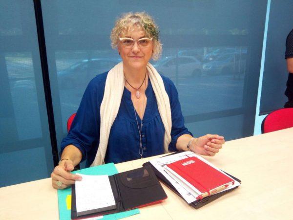 Roser Mas, Coordinadora del Nucli d'Osona de Comissions Obreres