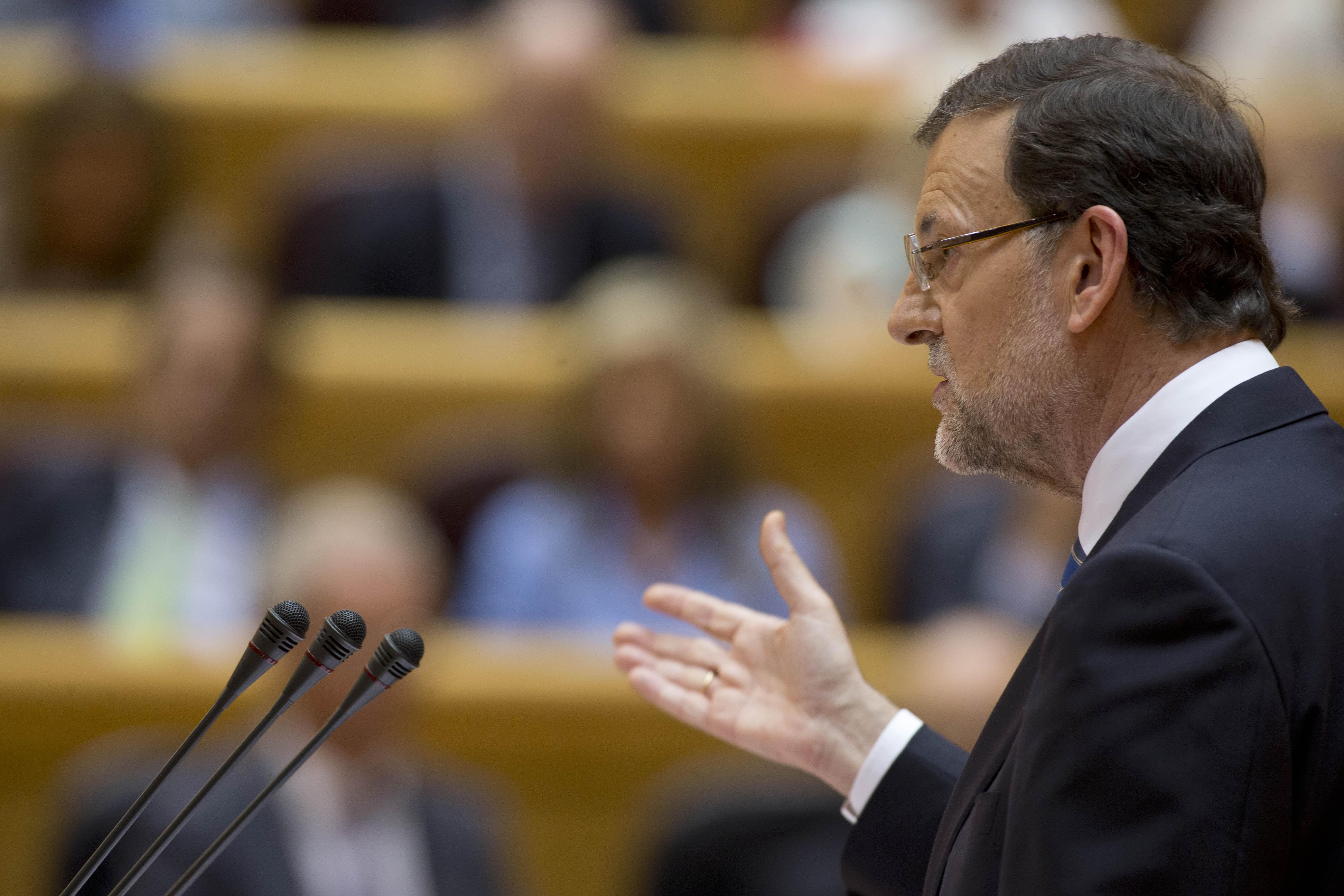 30/07/2013 Madrid, España El Presidente del Gobierno, Mariano Rajoy , comparece ante el Pleno extraordinario del Congreso de los Diputados. Fotografía: Diego Crespo / Moncloa Presidencia del Gobierno
