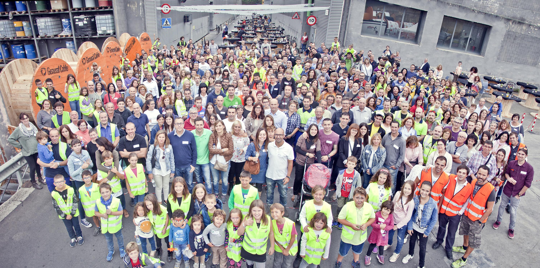 Unes 500 persones van visitar la planta de General Cable