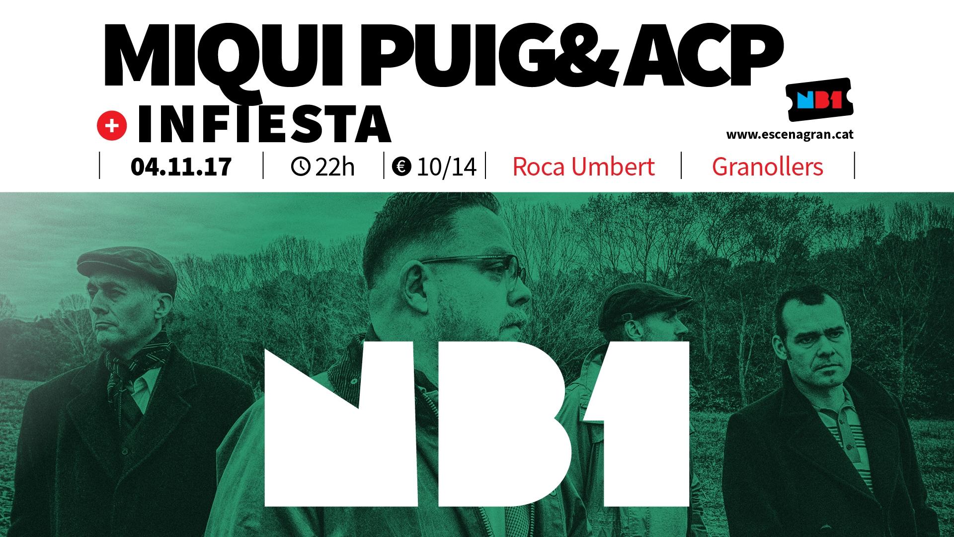 Concert de Miqui Puig a la NauB1 a Granollers