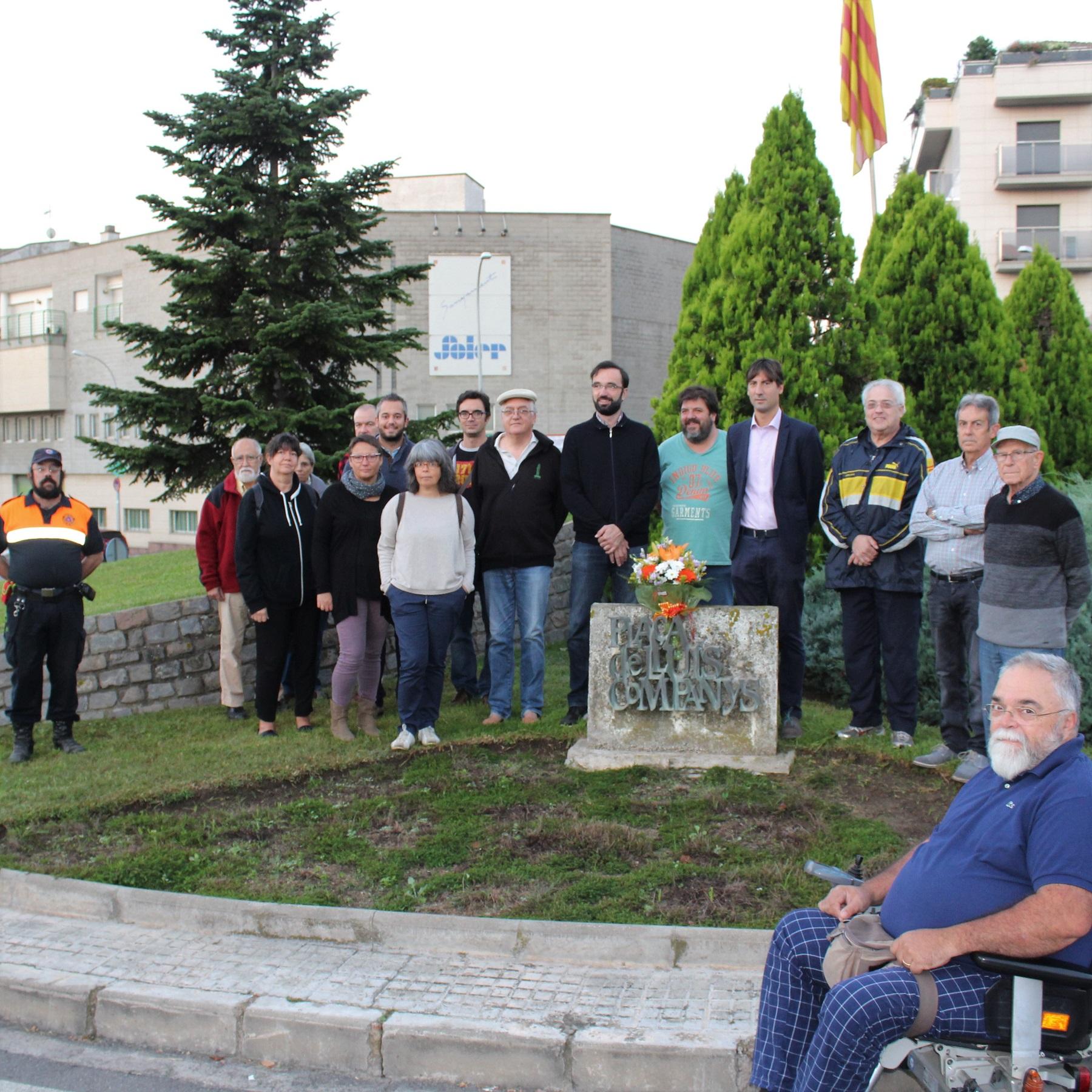 ERC de Caldes també ha homenatjat Companys