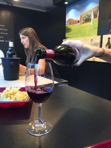 Tastet de vins.