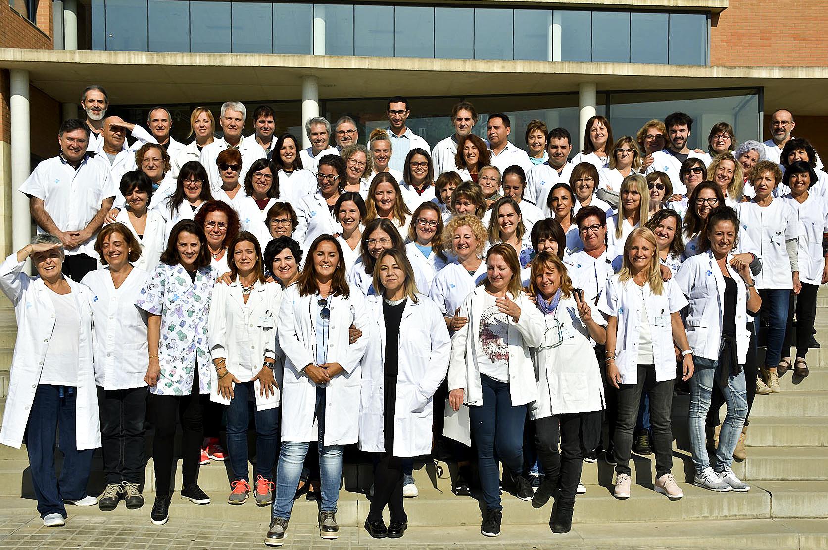 Part dels professionals treballen en els ambulatoris de Bellavista i Canovelles i en el consultori de Corró d'Avall