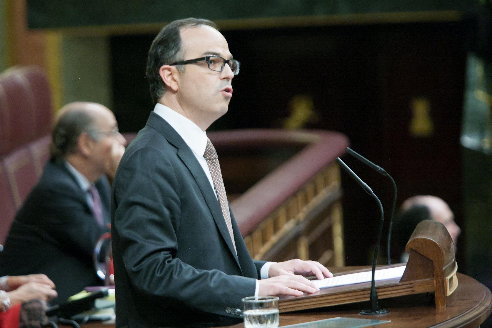 Jordi Turull en una imatge d'arxiu al Congrés de Diputats