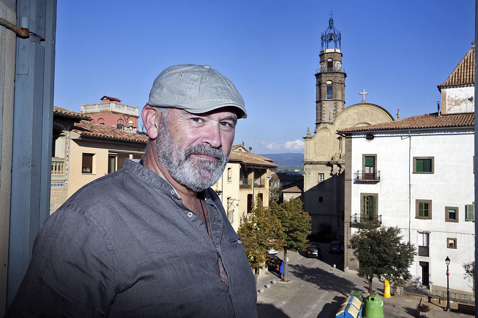 Facund Pérez, al balcó de Can Puget