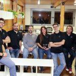 Responsables i emprenedors del coworking de Sant Julià