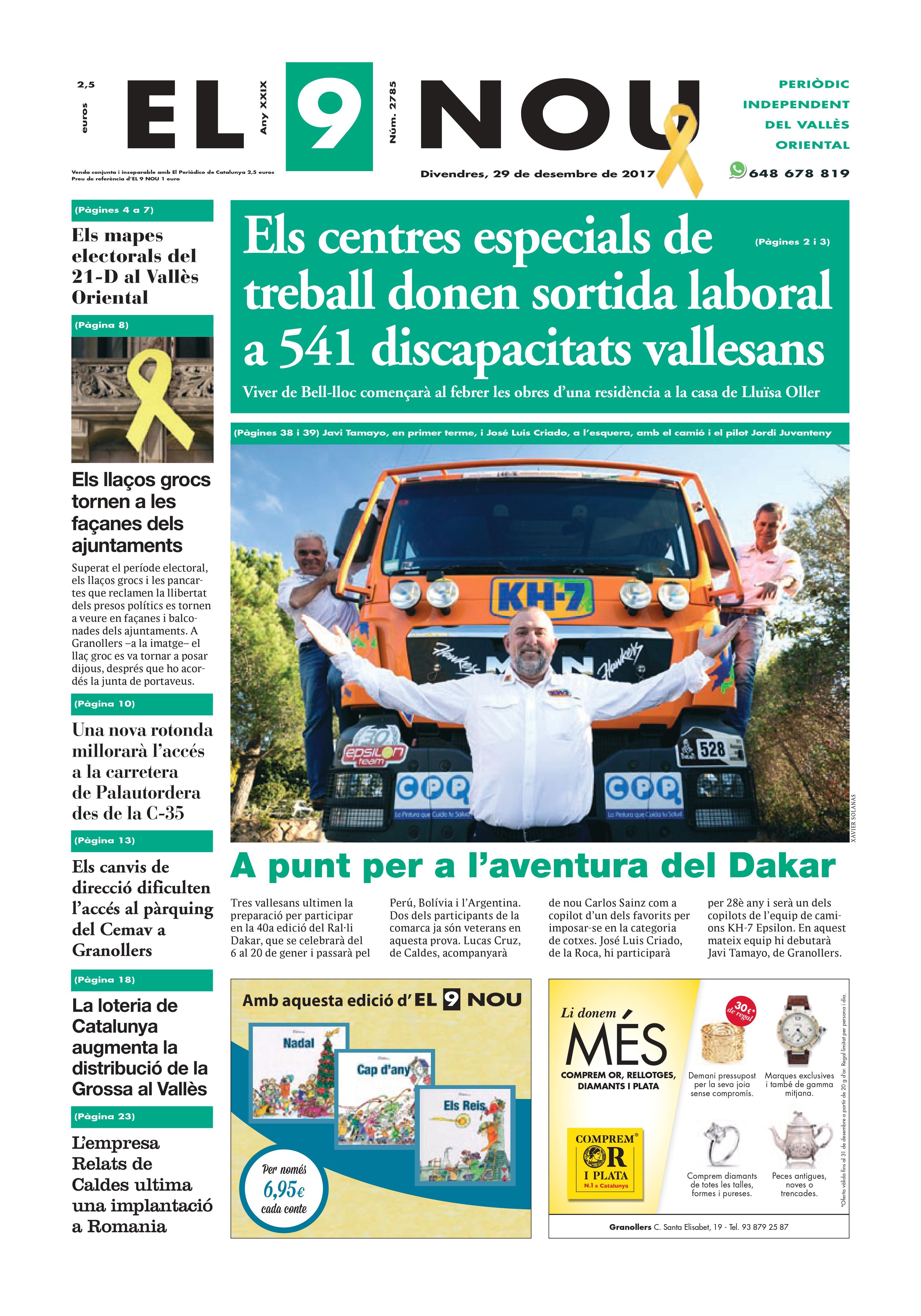Portada Vallès Oriental 22/12/2017