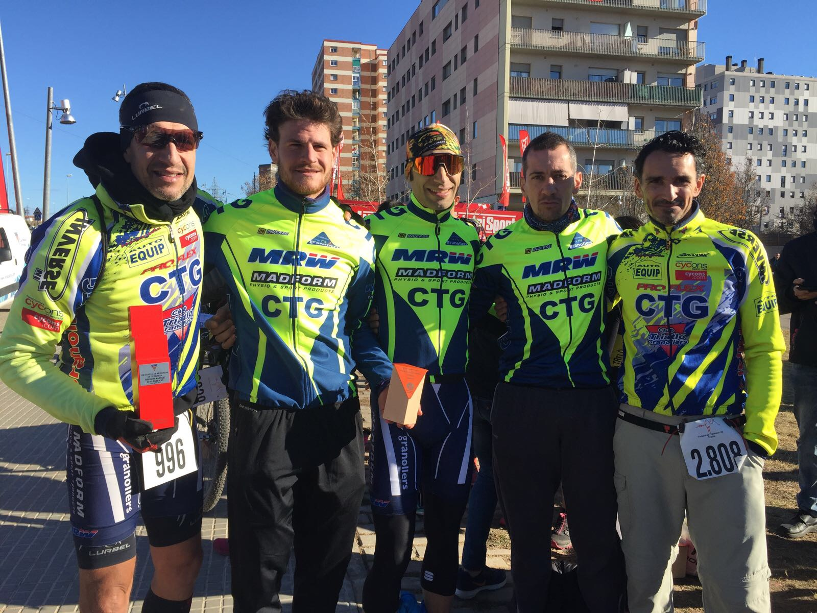 L'equip masculí del CTG