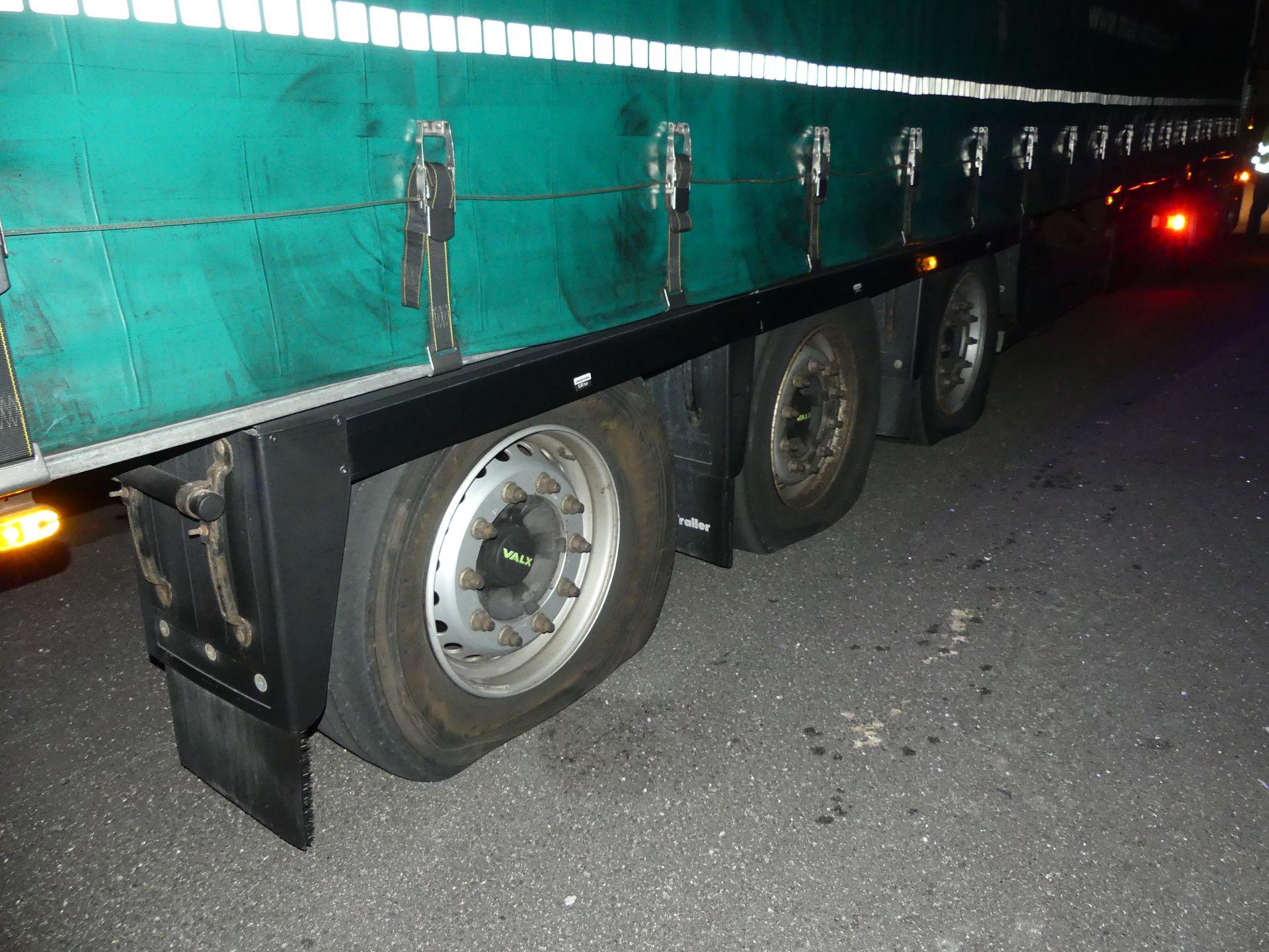 Un dels vehicles afectats aquest divendres