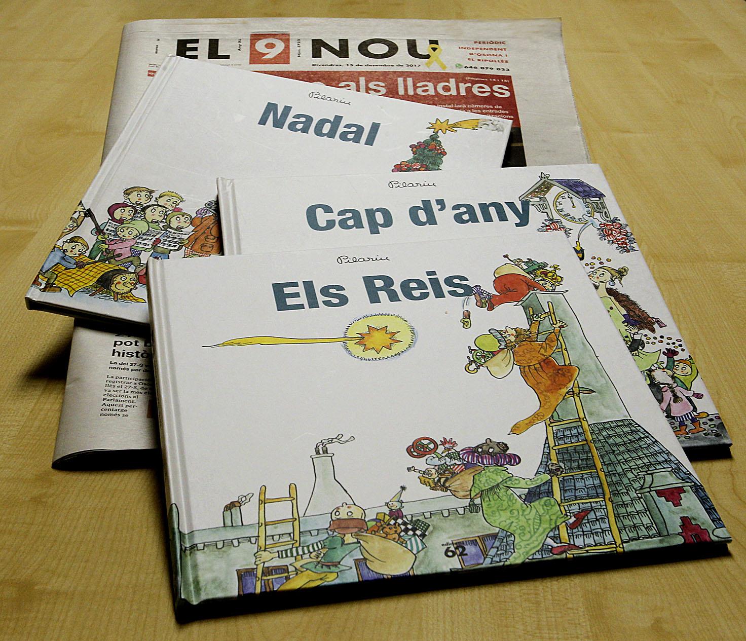 Aquests són els llibres que es poden comprar amb EL 9 NOU