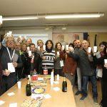 Celebració de membres i simpatitzants de JxCat