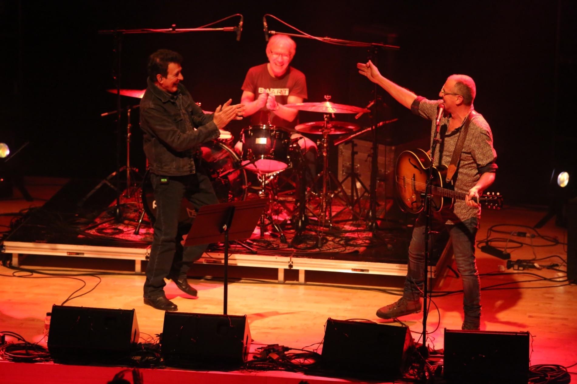 Quimi Portet amb Manolo Garcia, en el concert