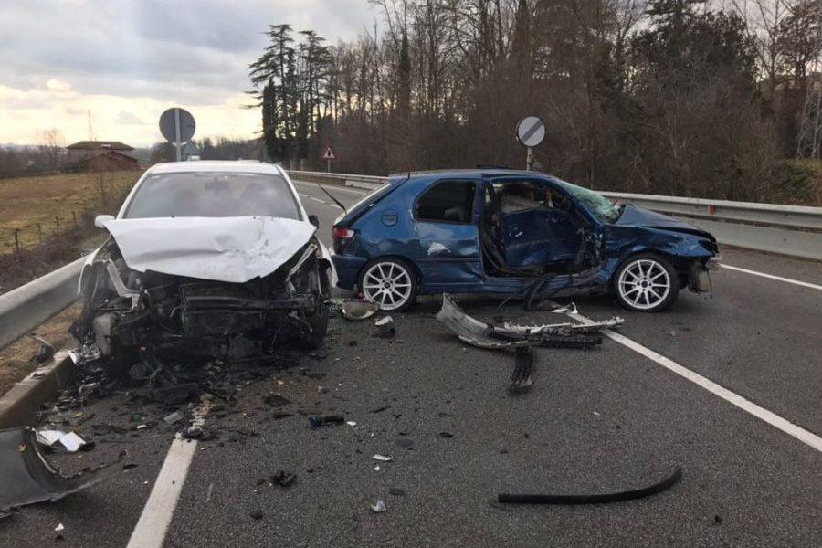 L'accident s'ha produït abans del pont de l'Aníjol