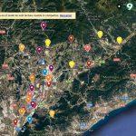 Mapa interactiu amb els candidats vallesans del 21-D