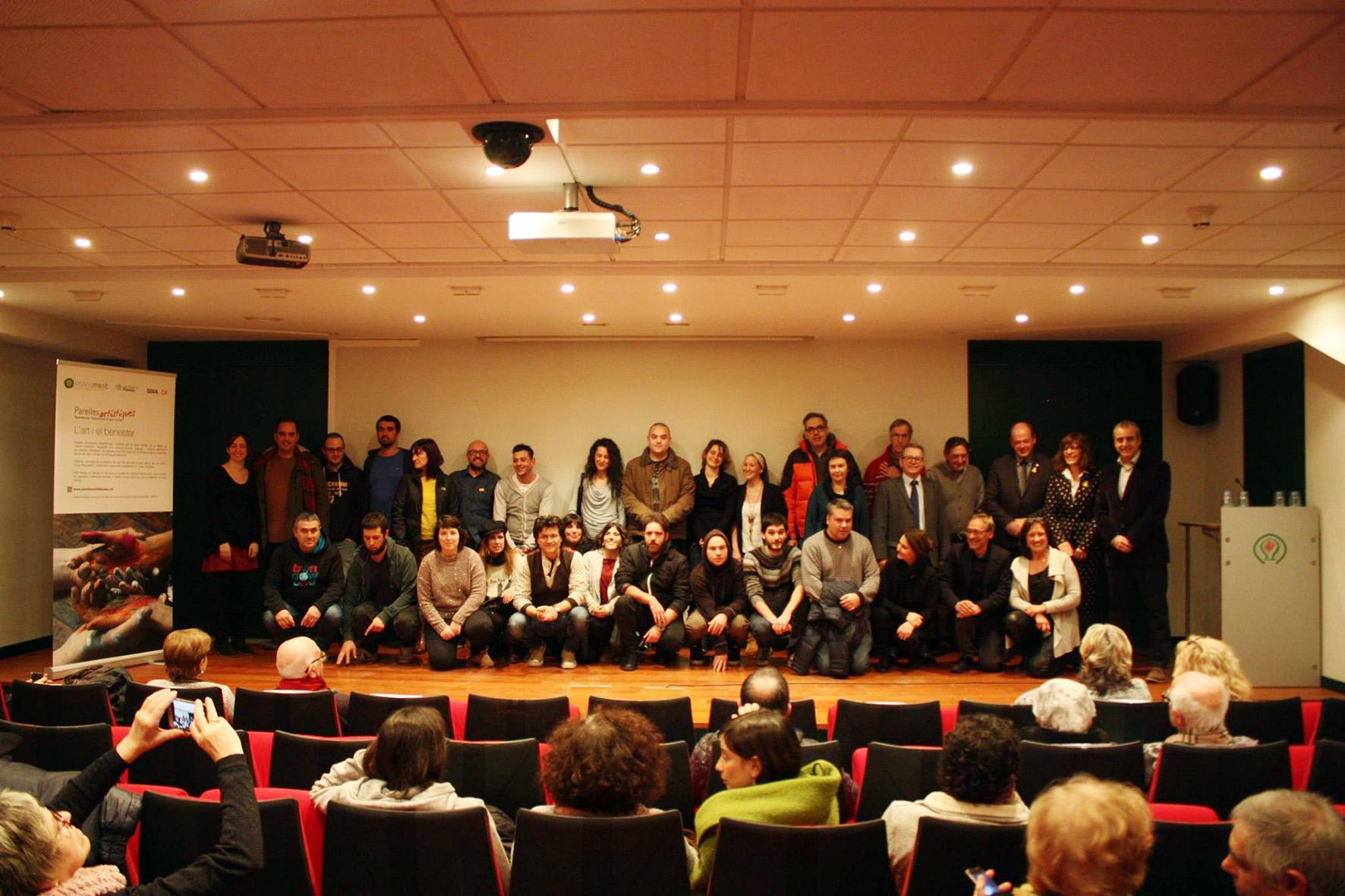 Participants d'Osona a la present edició de parelles artístiques