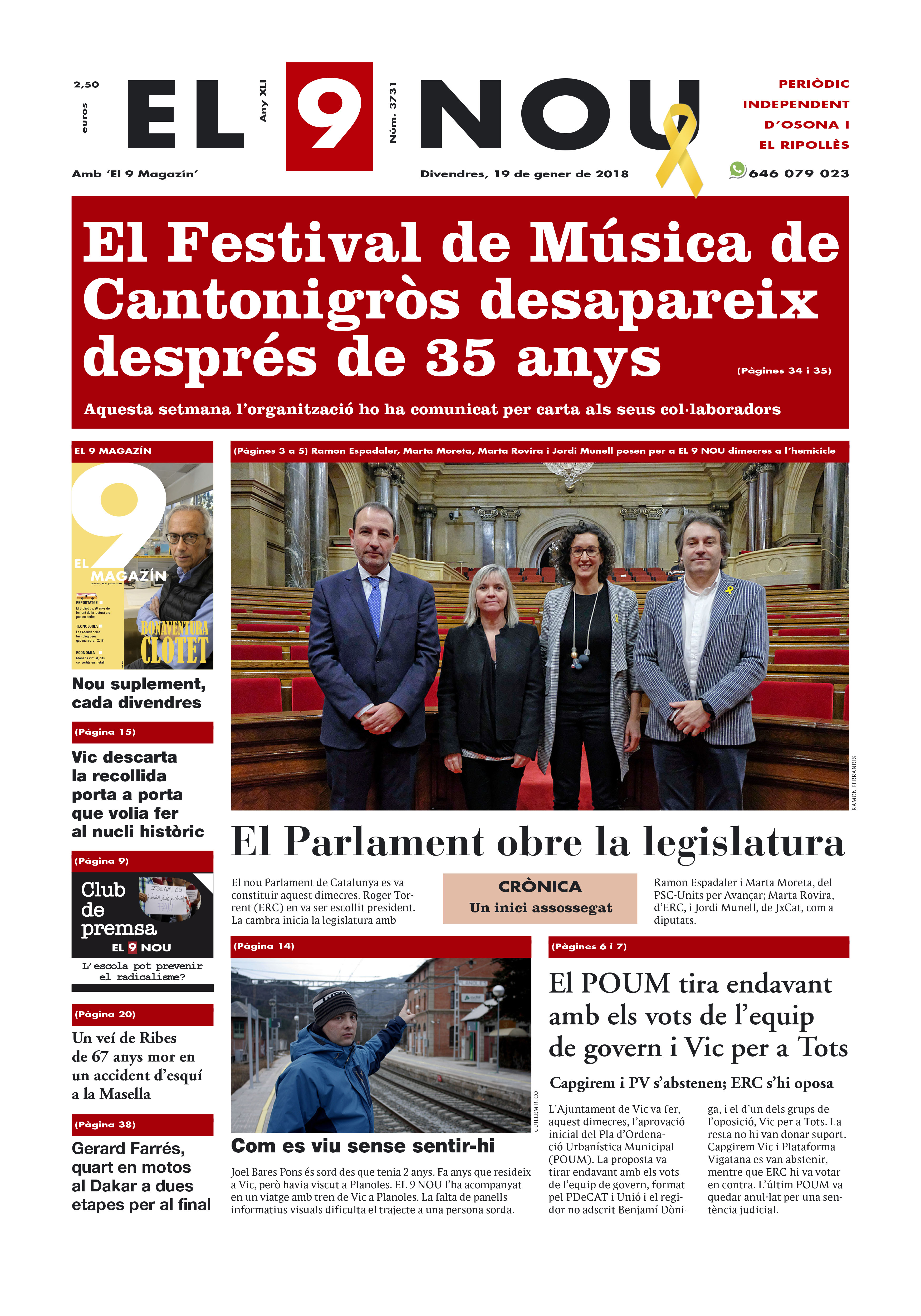 Portada Osona i Ripollès 190118