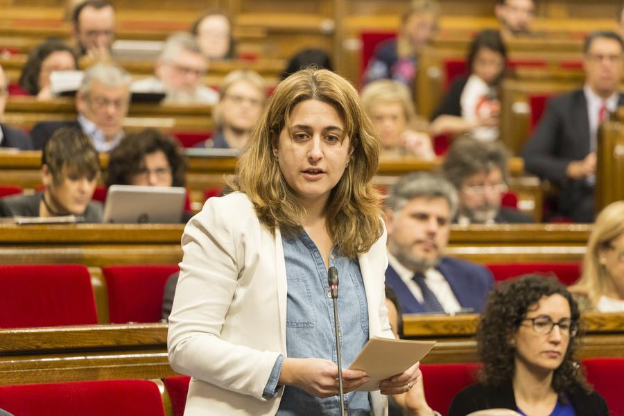Marta Pascal, al Parlament. Ara no és diputada