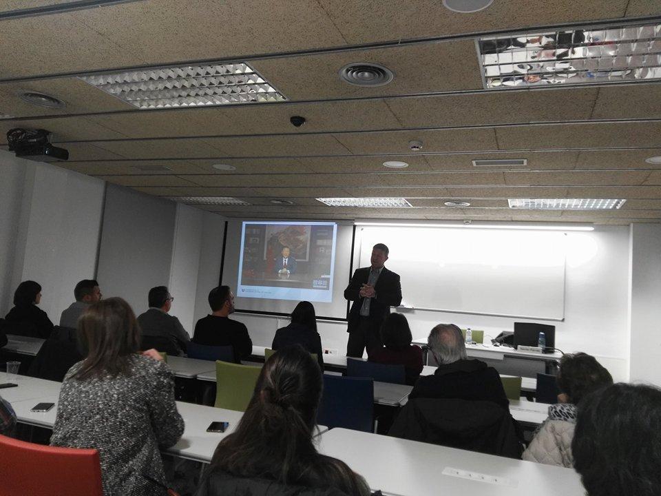 Master Class del degà de la Facultat d'Empresa i Comunicació de la UVic | Alba Jaumandreu