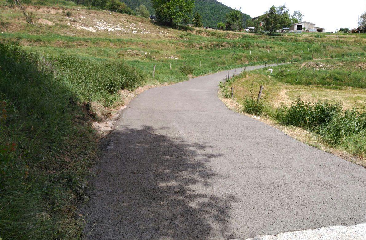 Un dels camins rurals de la comarca del Ripollès que serà reparat