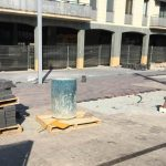 La reforma de la plaça unirà la vorera del carrer Sant Ponç amb la de la plaça