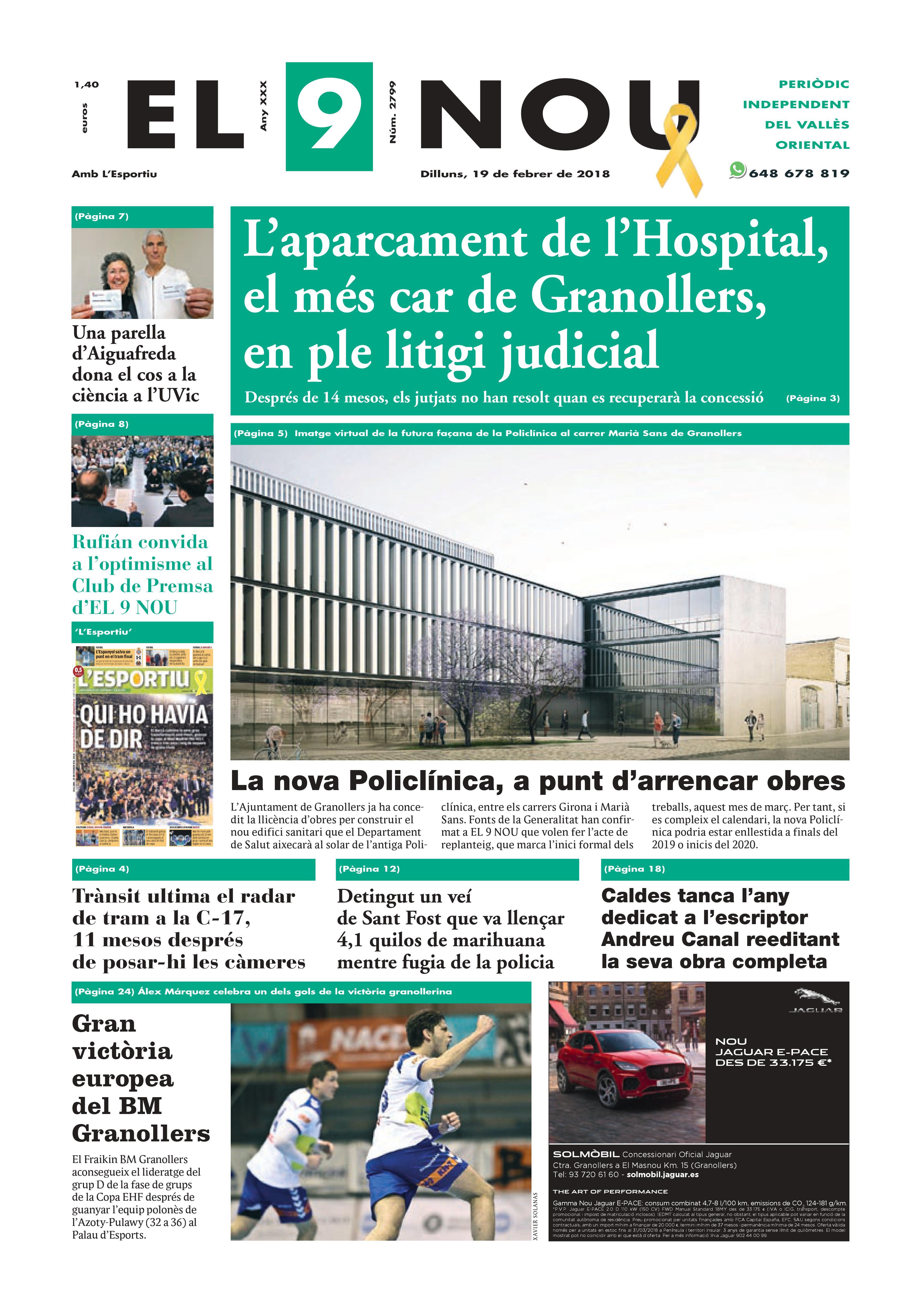 Primera plana EL 9 NOU 19_02_17 Vallès