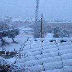 La neu arriba al sud d'Osona (Centelles)