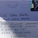 La carta enviada per Jordi Cuixart