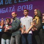Alguns dels premiats a la Festa de l'Esport de Vigatà