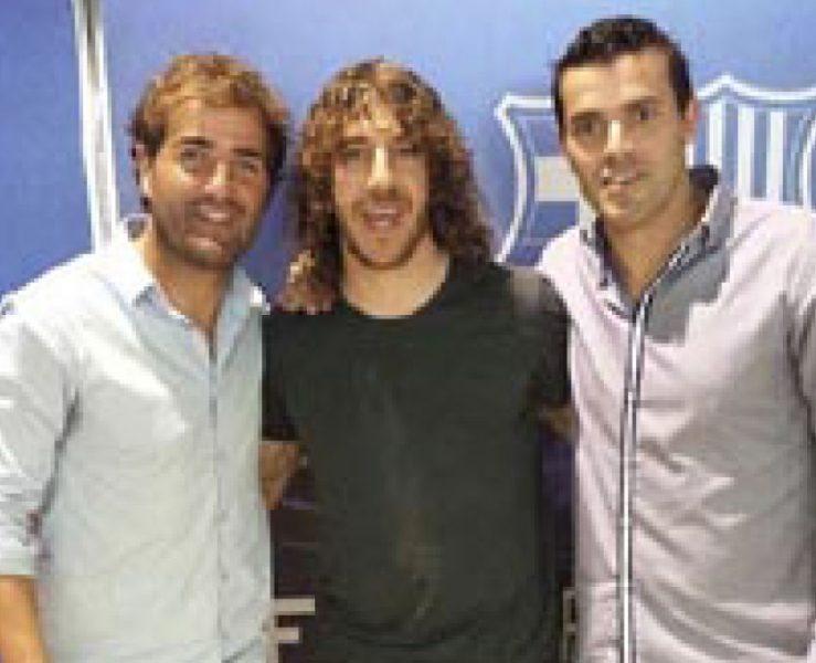 Felip, Puyol i Molist. Facebook Xevi Molist