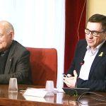 Antoni Pladevall amb Josep Salom
