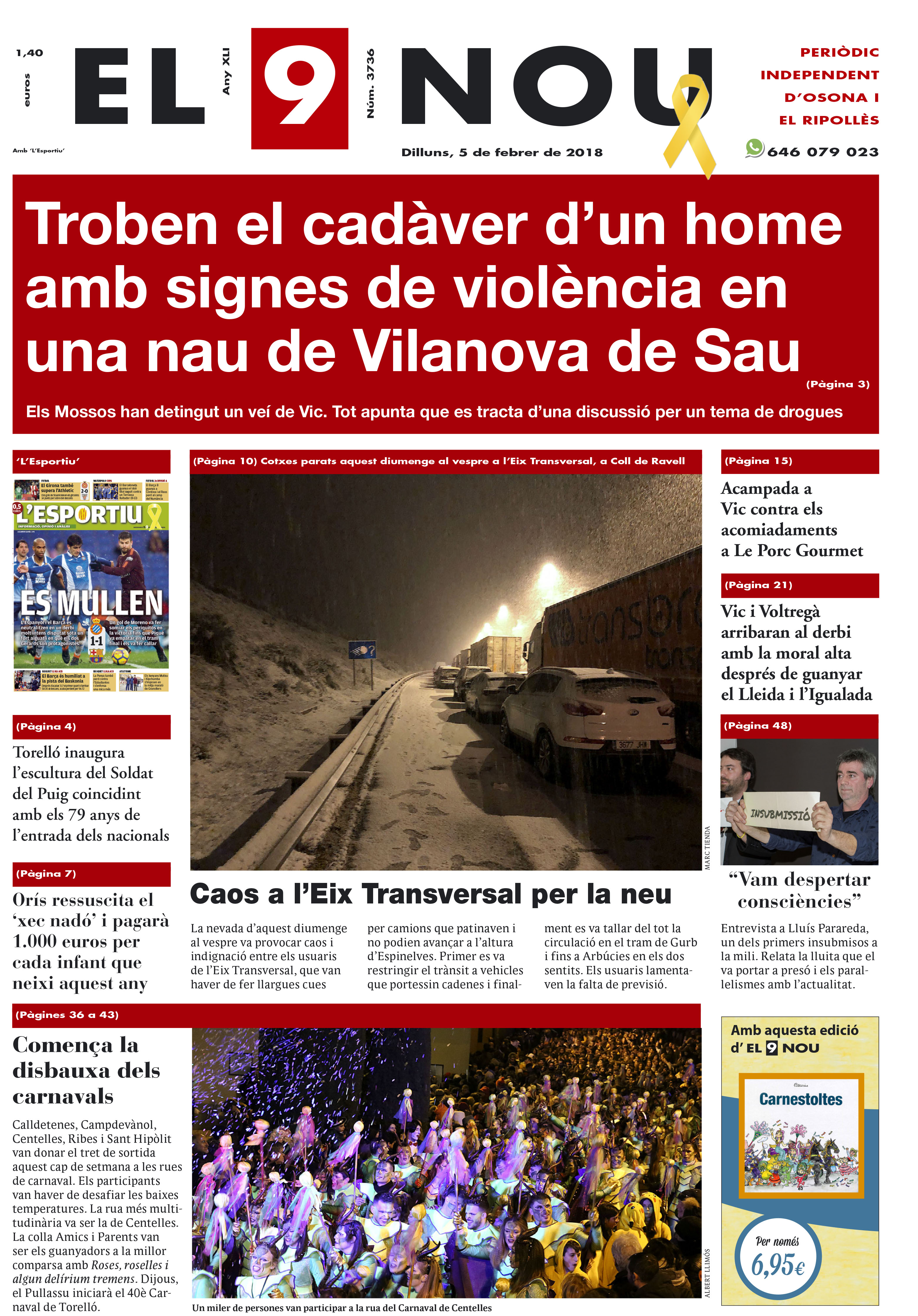 Portada Osona Ripollès 050218