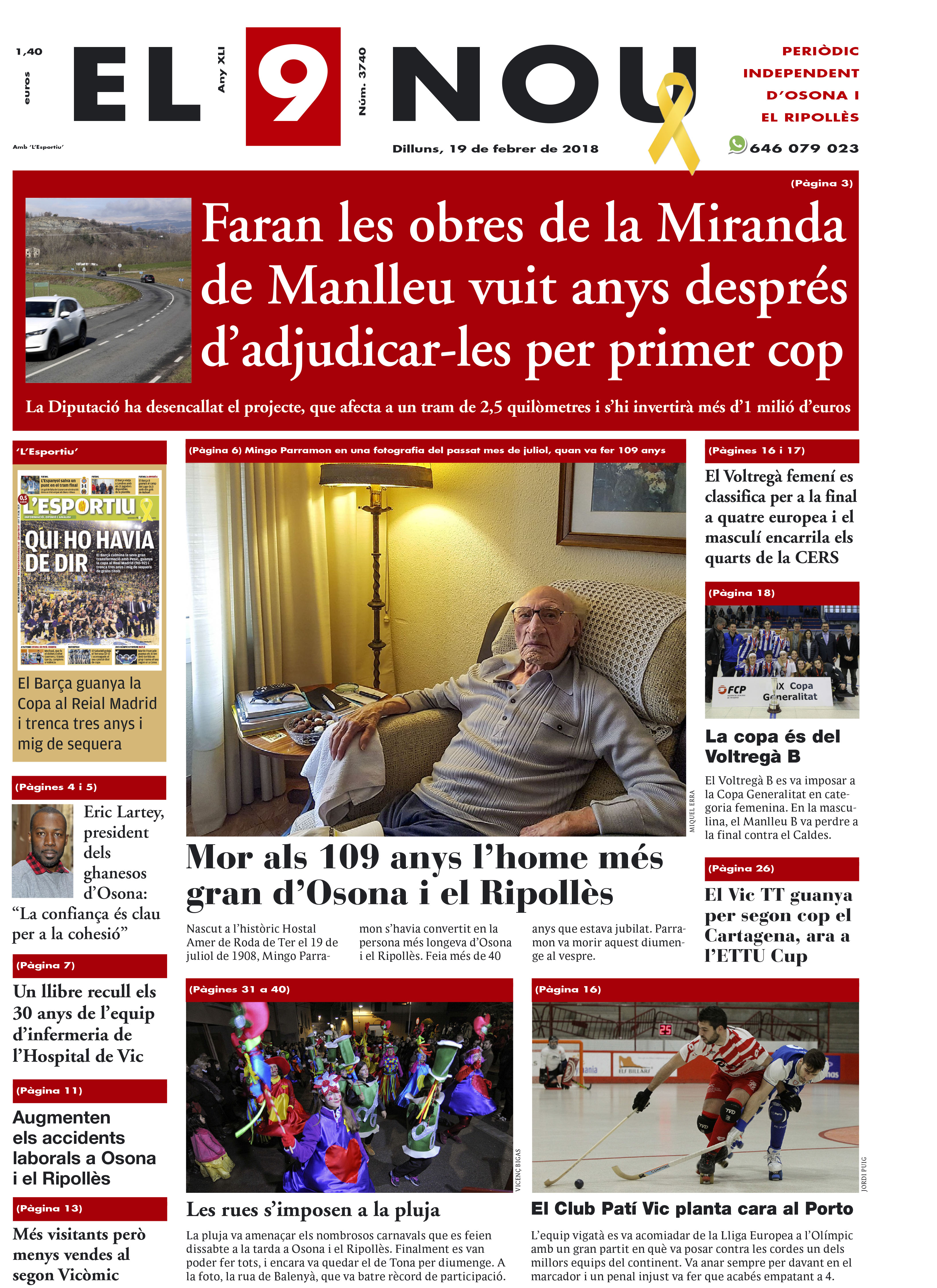 Portada Osona i Ripollès 190218