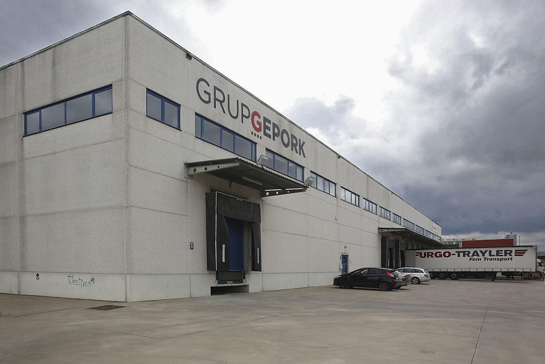 El nou magatzem de Gepork és a Gurb