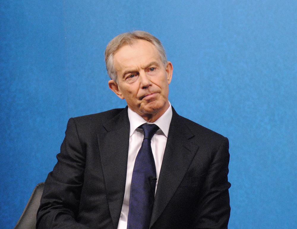 Tony Blair, exprimer ministre laborista britànic