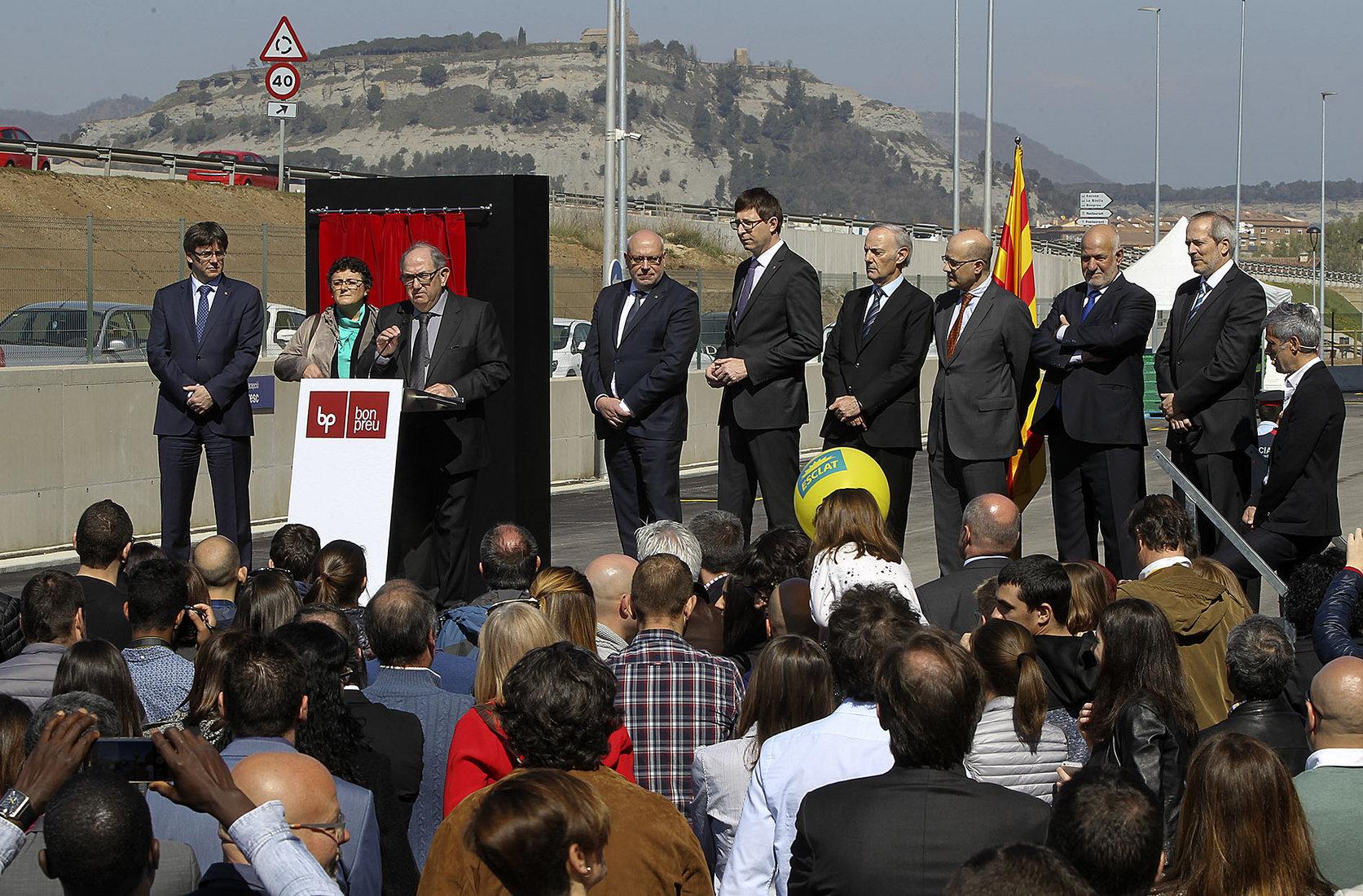 El grup Bon Preu va inaugurar fa un any un nou magatzem a Balenyà