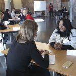 Una de les entrevistes que es van realitzar en el marc de la iniciativa d'ADFO